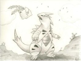 Come on, Tyranitar by NouvelOrage