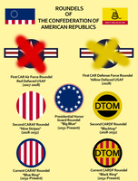 Confederation of American Republics: Roundels by Xanthoc