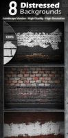 Distressed Textures Pack (Landscape) by WokDesign