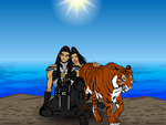 The Tigers Rest by Vectorman316