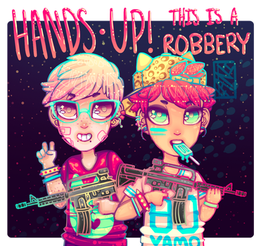 HANDS UP by L4NI
