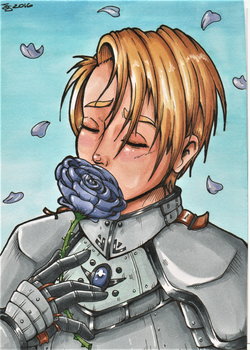 Roses for a Knight by JammyScribbler