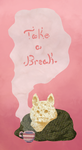 Take a Break Puppy Collage by ShesscaMayWiver