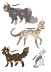 Free Warriorcats Adopts by ThePotato-Queen