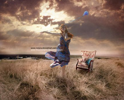 Gust Of Wind by Meyra