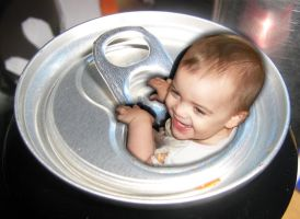 Baby in a Can!! by DeathGoddess231
