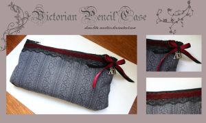 Victorian Pencil Case by Demolita-Mortier