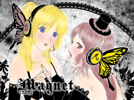 Magnet  - MeloxDeeDee - by krm3dayana