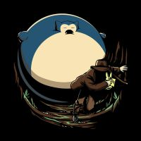 A Rolling Snorlax by LuluDubYou