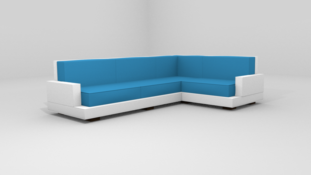 Simple sofa by messtwice