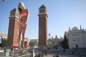 Jennifer Hawking in Barcelona by Accasbel