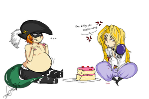 CAKE GET by Squidbiscuit