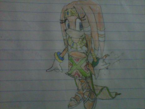 Tikal The Echidna by 10piplup09