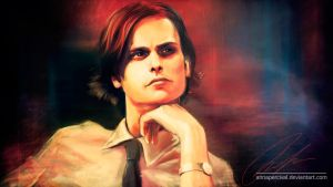 Dr. Spencer Reid by annapercival