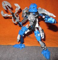Toa Ikira, Toa Ooduun of Water by Darkjedi4