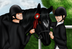 Funniest Foxhunters Prize by GinasDream