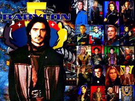 Marcus/Babylon 5 by scifiman