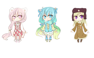 Chibi Page Doll BATCH 1 by KokoMall