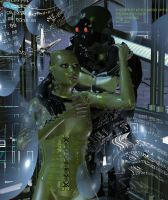Couple of Dystopia II by silverexpress