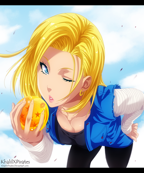 Dragon Ball Z - Android 18 by KhalilXPirates