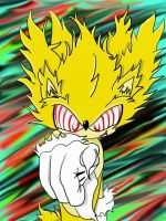 Fleetway Super Sonic by iammemyself