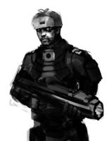 Soldier concept by 3ihard