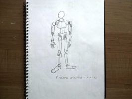 Android first attempt sketch by TheBlackNotebook
