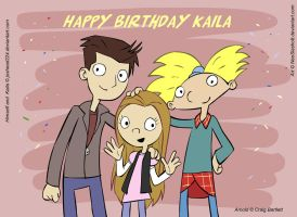 Happy Birthday Kaila by NeoSlashott