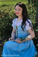 Belle From Once Upon a Time by Rebari