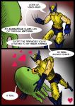 Wolverine-Loves-Squidman by DoctorStevehatten