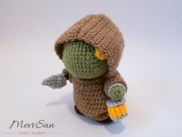 Amigurumi Final Fantasy Tonberry 4 by MevvSan