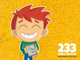Daily Vector - 233 (Proud kid) by KellerAC