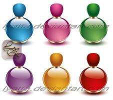 Design perfume cosmetics LZ 03 by Lyotta