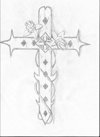 Cross Sketch by PortgasGFX