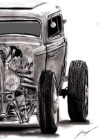 1932 ford coupe VII by Lowrider-Girl