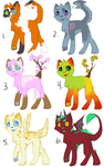 Cats adoptables! open 20 points by KidInvisible