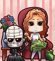 Pinsty - knitting time by Art-Gem