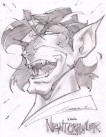 Nightcrawler Headshot by StevenSanchez