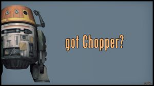 got Chopper? by Nova1701dms