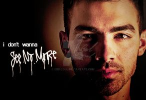 JoeJonas See No More Wallpaper by CrisCool