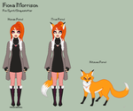 SS - Fiona Reference Sheet by theRainbowOverlord