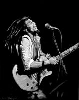 Bob Marley by SoulRebel9