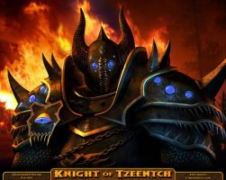 Knight of Tzeentch by Cybergooch