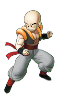 Krillin New Outfit by GokuGarlic