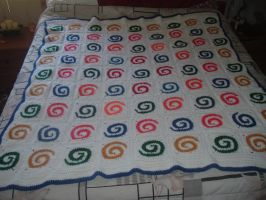 Spirals afghan by Nanettew9
