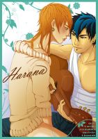 Harana - BL Comic Cover Art by kanzeNatsume