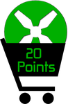 20 Points by TheRedCrown