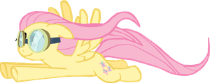 My first Fluttershy vector, upgraded version. by Flutterflyraptor