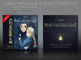 Howl's Moving Castle Album Covers HD by shinobireverse