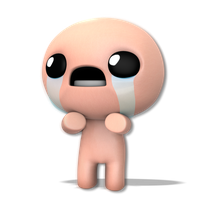 The Binding Of Isaac Render by Nibroc-Rock